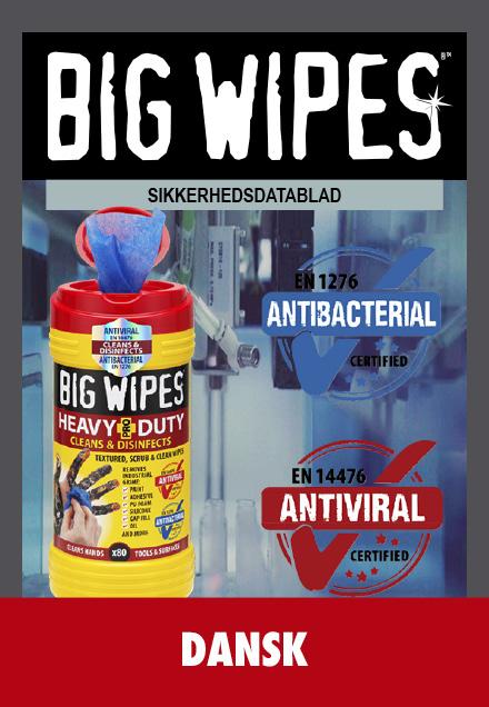 BIG WIPES -  Sikkerhedsblad - DANSK