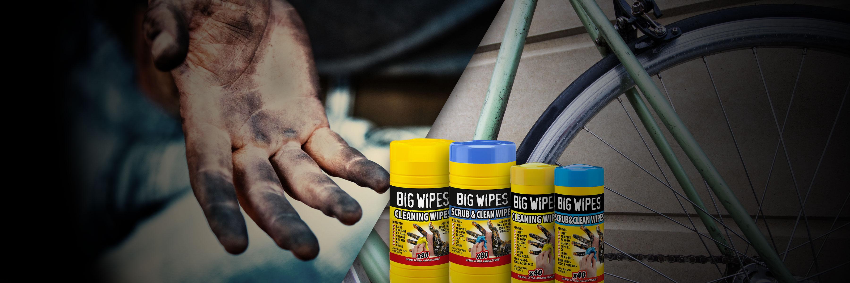 BIGWIPES - Renseservietter - Cykel