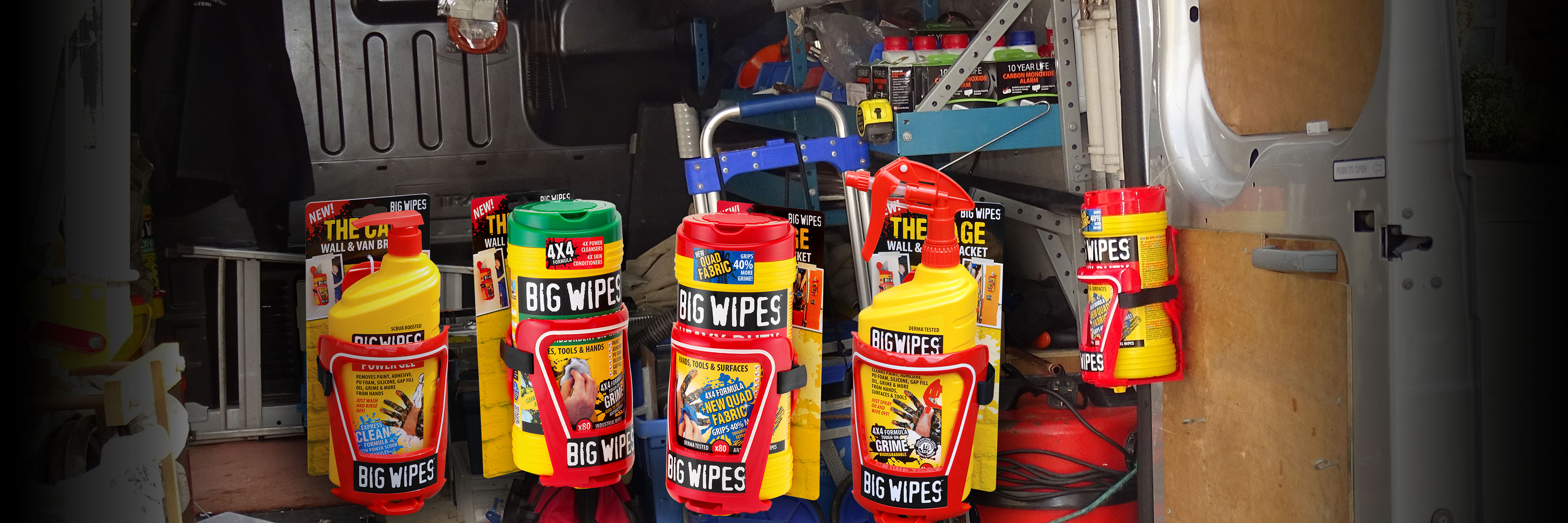 BIGWIPES - Renseservietter · HOLDER
