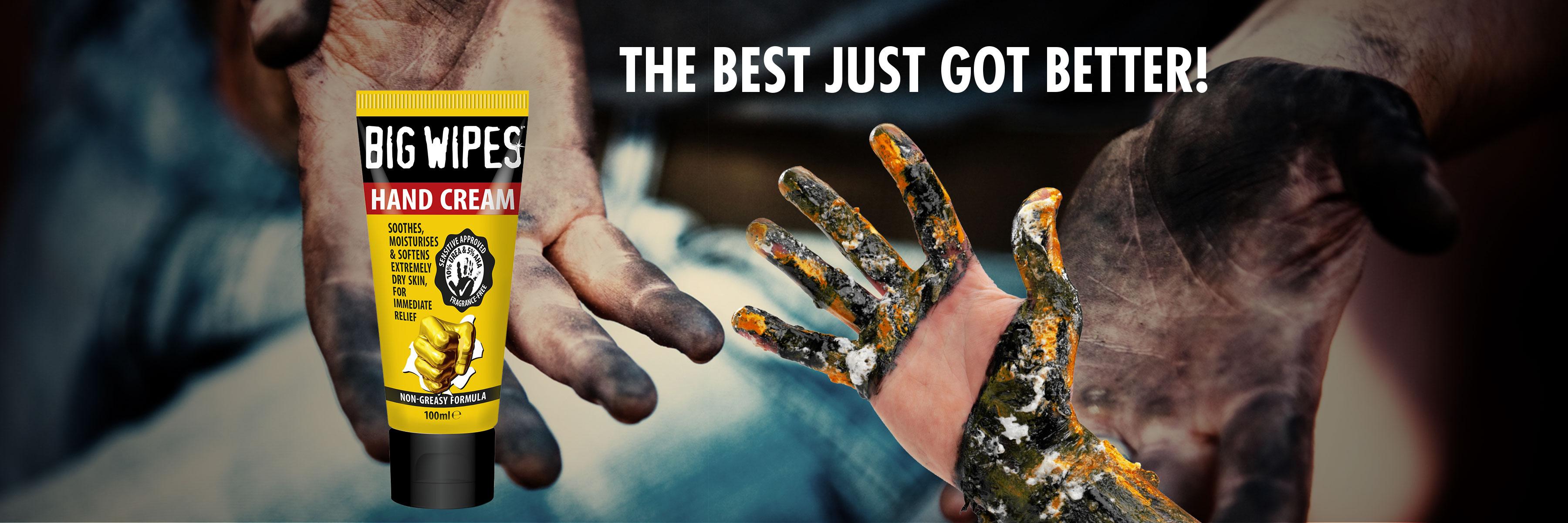 BIGWIPES - HAND CREAM - Industri PRO Rense håndcreme
