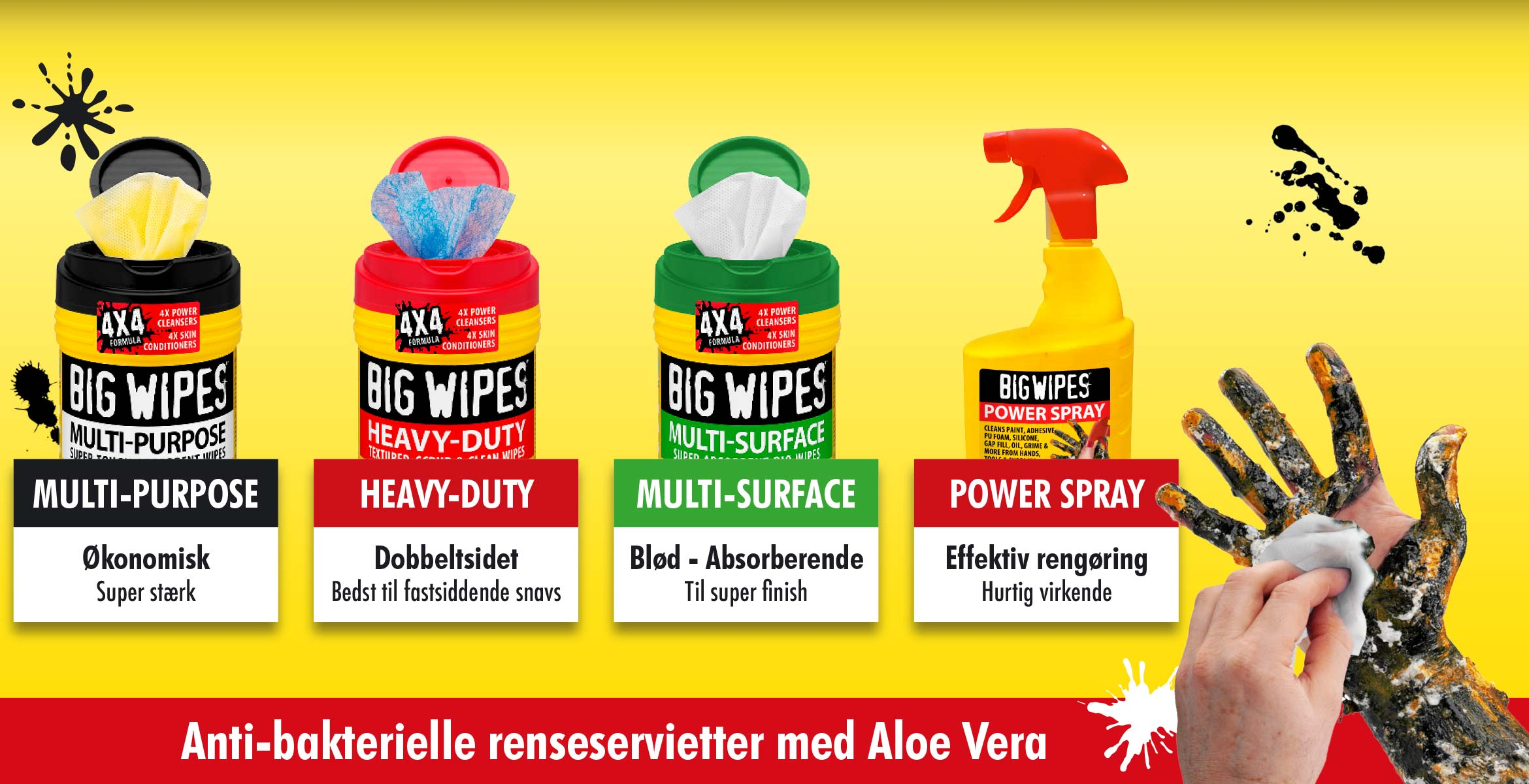 BIGWIPES - Renseservietter